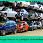 Специализация по разборке автомобилей