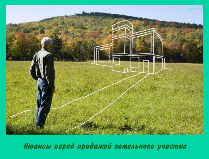 Нюансы перед продажей земельного участка