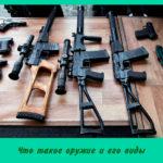 Что такое оружие и его виды